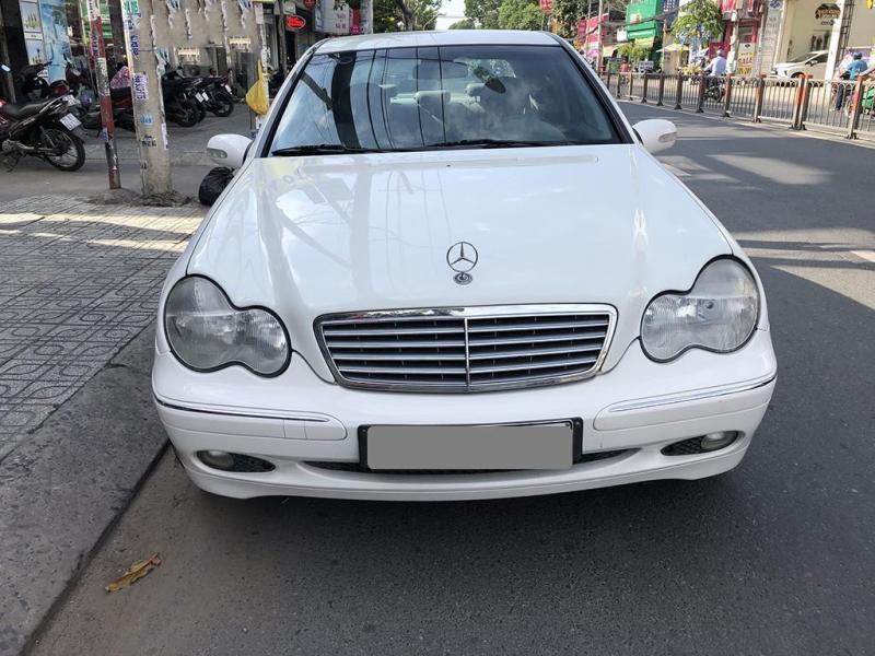 Bán Mercedes C200 màu Trắng 2002 tự động xe như con cọp.