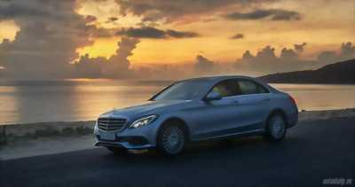 Bán Mercedes C250 Exclusive đăng ký và sản xuất 2016, xe chạy mới 1,3 vạn km