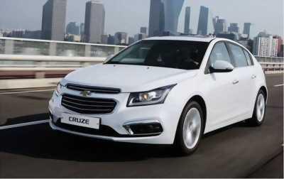 Chevrolet Cruze LTZ số tự động màu trắng 2017