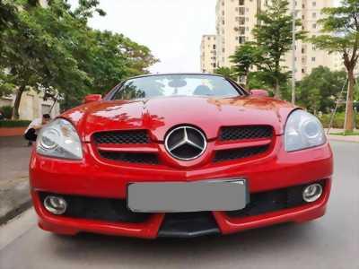 Bán Mercedes Slk 200 tự động màu đỏ sx 2009 cực đẹp
