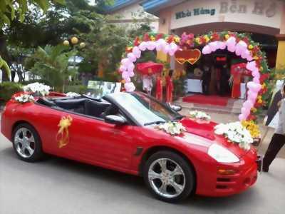 Cho thuê xe cưới Lexus mui trần tại thành phố