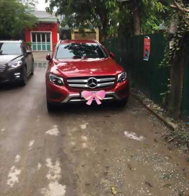 Bán xe Mercedes GLC250 2016 màu đỏ tại HCM