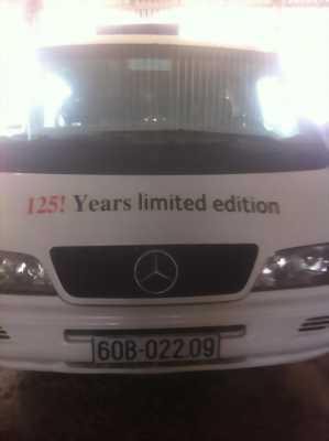 Bán xe 16 chỗ đời 2001 Merceder Benz màu trắng