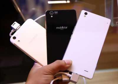 Điện thoại mobiistar màu gold