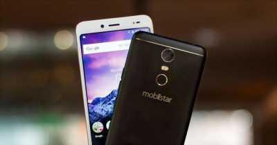Mobiistar e selfie mua được 1 tháng còn mới 99%.