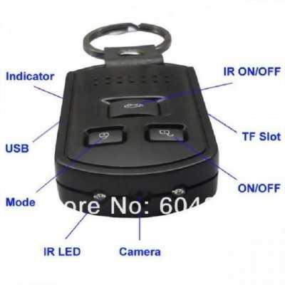 Móc khóa camera ngụy trang quay phim full hd K2 giá rẻ nhất uy tín nhất mọi miền tổ quốc