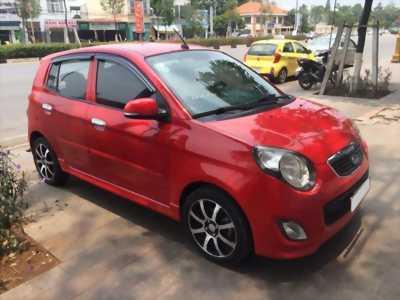 Cần bán xe Kia Morning 2011 số tự động màu đỏ, chính chủ