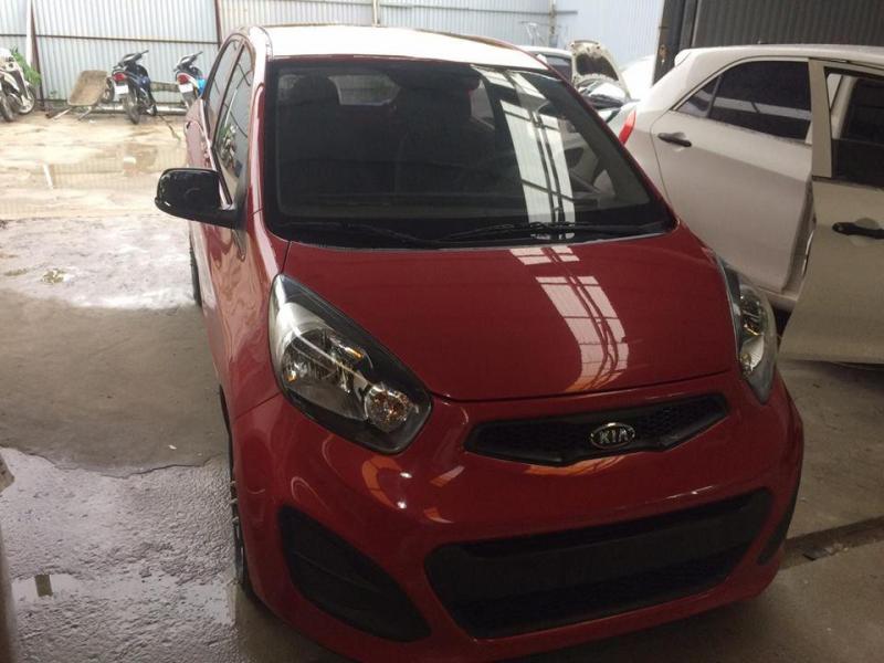 Cần bán Kia morning VAN 2012 màu đỏ nhập khẩu