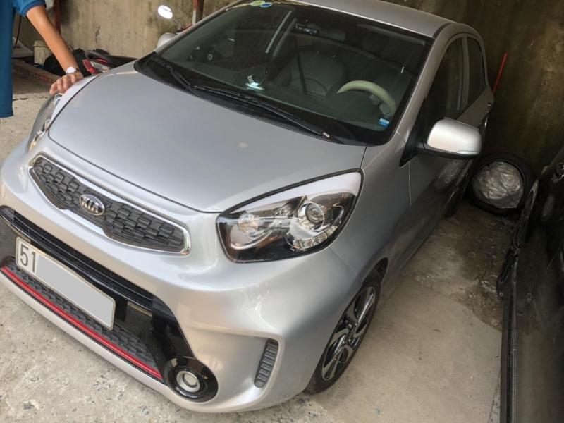 Cần bán xe Kia Morning đời 2016 tại Gò Vấp.