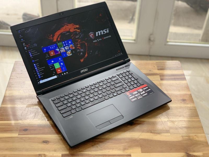 Laptop Gaming MSI GL72 6QF, i7 6700HQ 8G SSD128+1T Full HD GTX960M 17.3 inch đẹp zin 100% Giá rẻ