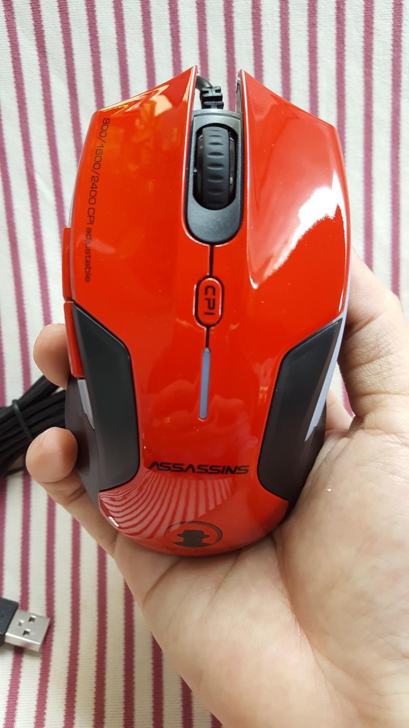 Chuột quang có dây Assassins N500