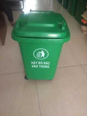 Thùng rác nhựa 60L - Thùng đựng rác gia đình mới