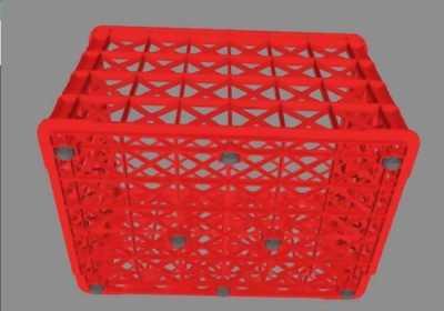Sóng nhựa 8 bánh xe, sóng nhựa hở 8 bánh xe