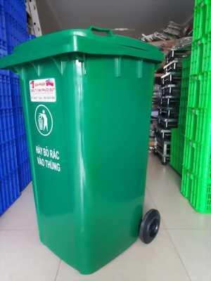 Bán thùng rác nhựa 120L - 240L giá rẻ tại Q7