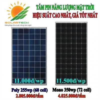 Tấm pin năng lượng mặt trời giá rẻ cho mọi người