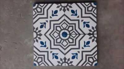 Gạch bông họa tiết phong cách cổ điển