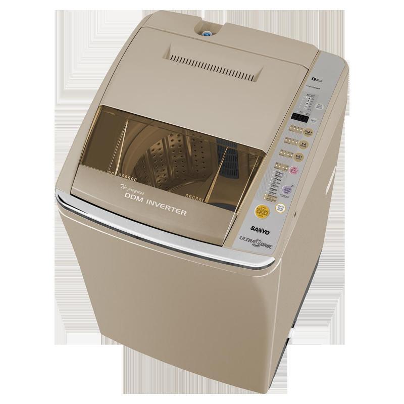 Máy giặt lồng đứng SANYO 8,1kg zin 100% mới 85%
