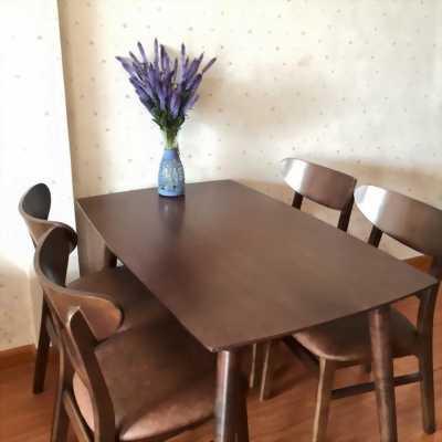 Bán bàn ghế ăn Mango xuất Hàn tại Hà Tĩnh