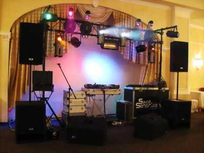 Giàn âm thanh, rạp cưới, bàn ghế