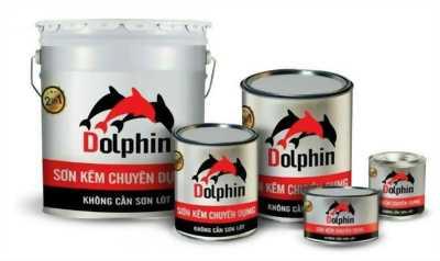 Cung cấp sơn kẽm chuyên dụng Dolphin tới đại lý giá rẻ Bình Dương