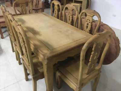 Bộ bàn ăn gỗ mít 100 tuổi