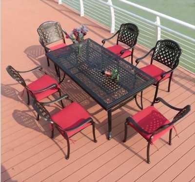 Bộ bàn ghế gang đúc nghệ thuật -BG_05- dành cho sân vườn