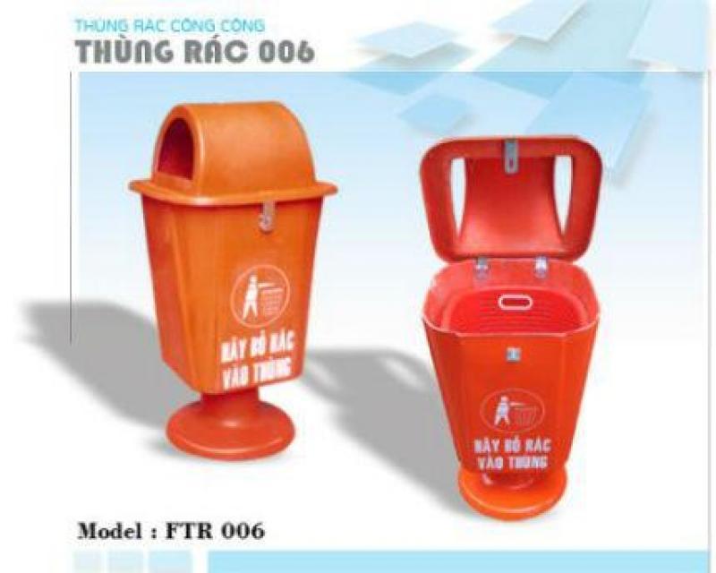 Thùng rác 55L  - Thùng rác treo 55l giá rẻ