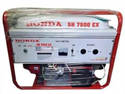 Máy phát điện honda SH 7500Ex le gió tự động