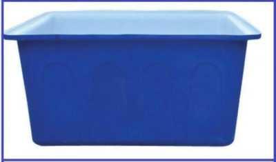 Thùng nhựa chữ nhật 1000L đựng nước, nuôi cá giao hàng tận nơi