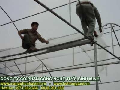Lưới chắn côn trùng nông nghiệp, lưới chắn côn trùng hà nội, nhà lưới trên sân thượng, nhà lưới mini