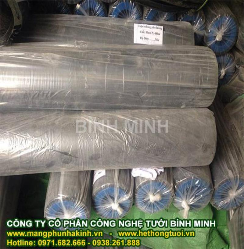 Cách dùng màng phủ nông nghiệp, lợi ích màng phủ nông nghiệp, màng nilon dùng trong nông nghiệp