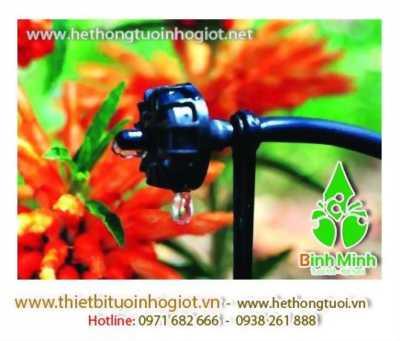 tưới nhỏ giọt, hệ thống tưới nhỏ giọt trong nhà kính, tưới nhỏ giọt cho ban công, tưới nhỏ giọt cho hoa