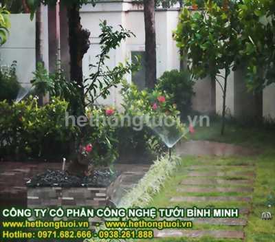 Hệ thống tưới sân vườn,đầu phun usa, béc phun usa, giá béc tưới cây,phụ kiện hệ thống tưới nước