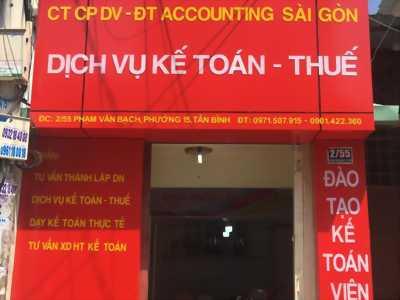 Nhận dạy kèm thực hành kế toán và khai báo thuế