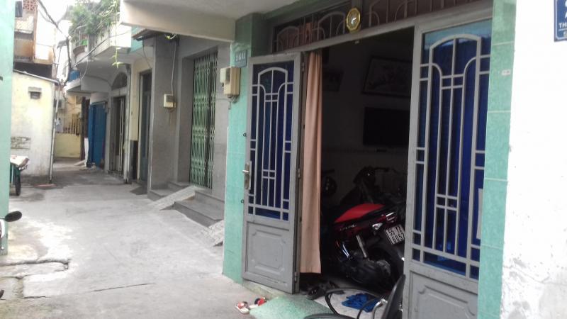 Nhà ở sổ hồng 2/45/13 thiên phướcc f9 quận Tân Bình