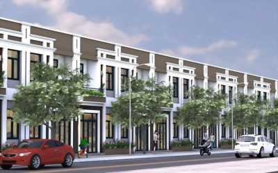 Nhà phố 1 trệt 1 lầu tại Khu dân cư Phú An, Cần Thơ