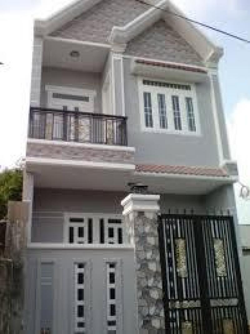 Bán Nhà Bình Chánh 125m2 Giá:480tr SHR Nội Thất Đẹp
