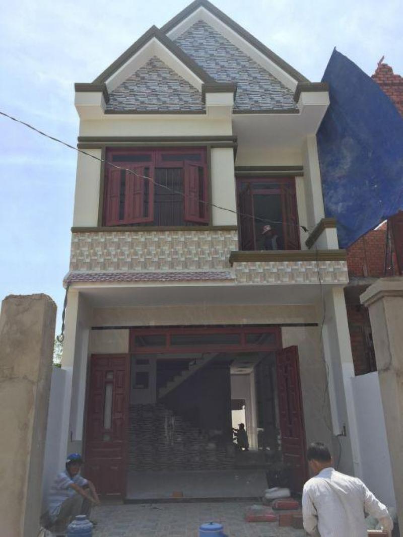 Bán Nhà Bình Chánh gần chợ Hưng Long 125m2 Giá:480tr.