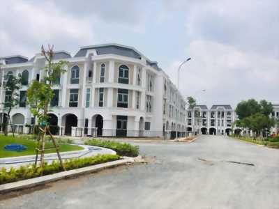 Nhà 1 trêt 2 lầu, 90m2, mt An Phú Tây, Bình Chánh