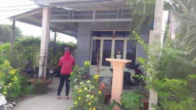Bán nhà xã Phước Lâm, Cần Giuộc, hẻm xe hơi