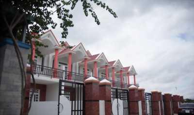 Bán nhà mới đẹp mặt tiền đường Xe Hơi, Ấp Tân Điền, xã Long Thượng, Cần Giuộc, sổ hồng riêng