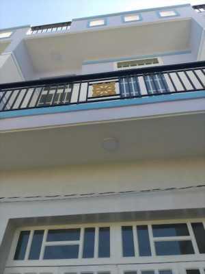 Bán nhà mới xây trệt lầu cách mặt tiền đường 835 25m, ấp Lộc Trung, xã Mỹ Lộc giá rẻ 570 triệu.