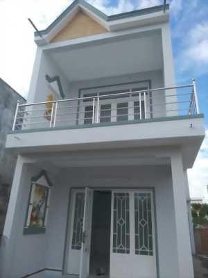 Bán nhà KDC Long PHú, 100m2, trệt, lầu, 2PN gần Trường học Tái Định Cư, huyện Cần Giuộc , Long An