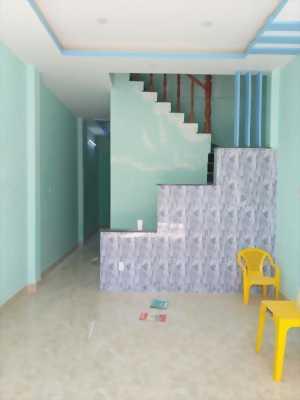 Bán nhà hẻm xe hơi đường Tân Phước gàn Bến Phà Long Hậu, 1 lầu mới xây có sổ hồng giá 1,6 tỷ