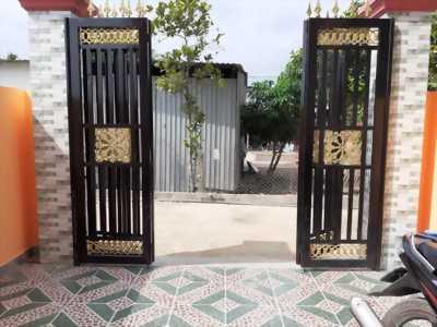 Bán nhà 4 căn liền kề, hẻm xe hơi đường Trần Thị Non, Long Thượng, Cần Giuộc, Long An.