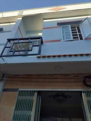 Bán nhà hẻm xe hơi giáp ranh Bình Chánh thuộc ấp Phú Ân, Phước Lý, Cần Giuộc, Long An.