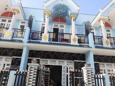 Cần bán nhà hiện đại, sang trọng, sổ hồng riêng mặt tiền đường Tám Đúng, Long Thượng, Long An.