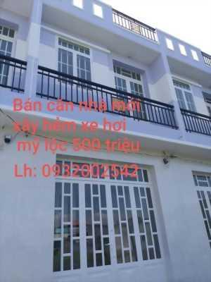 Cần tiền bán gấp nhà mới xây, hẻm xe hơi đường Cộng đồng Lộc Hậu, Mỹ Lộc, Cần Giuộc, Long An