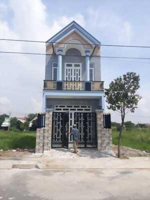 Cần bán nhà trệt lầu trong Khu tái đinh cư Tân Kim, ấp Tân Phước, xã Tân Kim, huyện Cần Giuộc, tỉnh Long An.