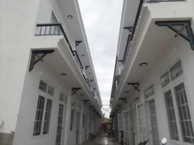 Nhà phố liền kề huyện củ chi 1 trệt 1 lầu DT 5*10 670tr/căn